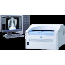Ветеринарная система оцифровки рентген-снимков Konica Minolta CR Regius Sigma II